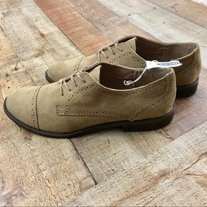 Old Navy Faux Suede Oxfords